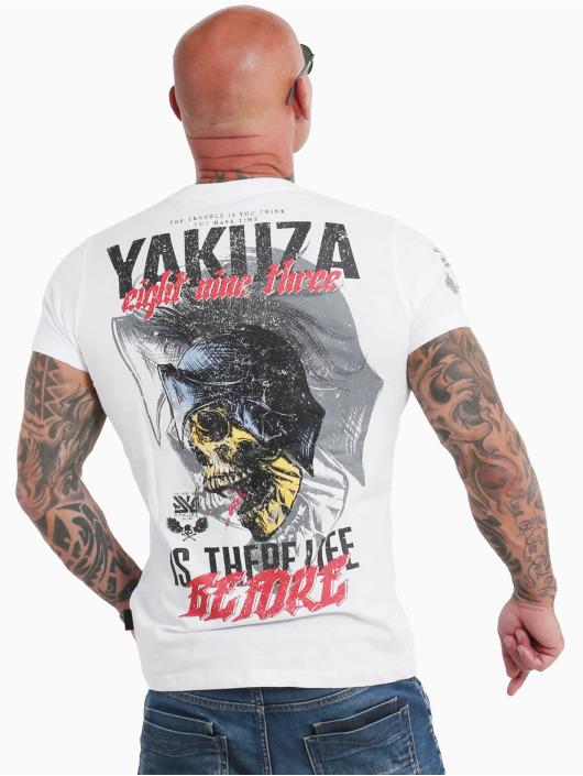 Yakuza T-Shirty Life Before bialy
