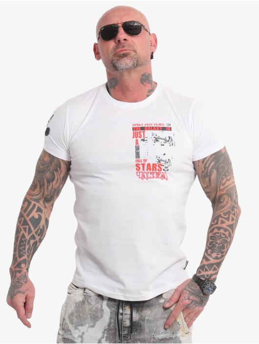 Yakuza T-Shirty Galaxy bialy