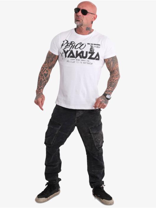 Yakuza T-Shirty Perico bialy