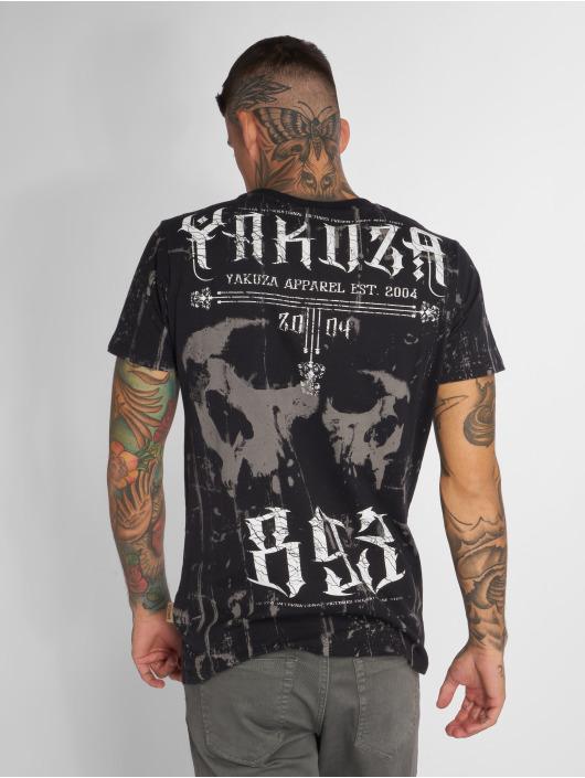 Yakuza T-Shirty Dark Side czarny