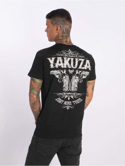 Yakuza T-Shirty Daily Use czarny