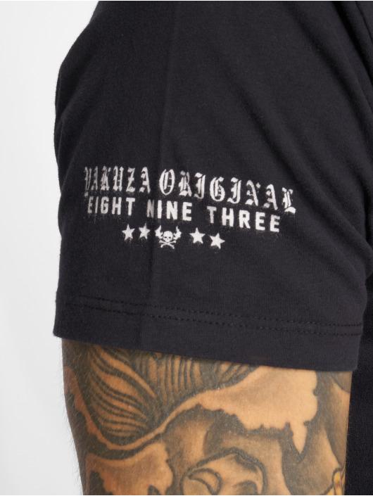 Yakuza T-Shirty Por Que No czarny
