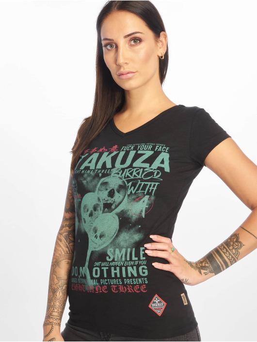 Yakuza T-Shirty Burried czarny