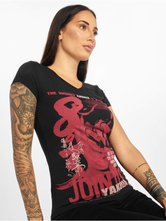 Yakuza T-Shirty Join Us czarny