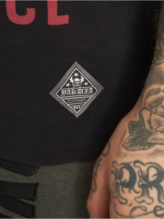 Yakuza T-Shirty Xray czarny