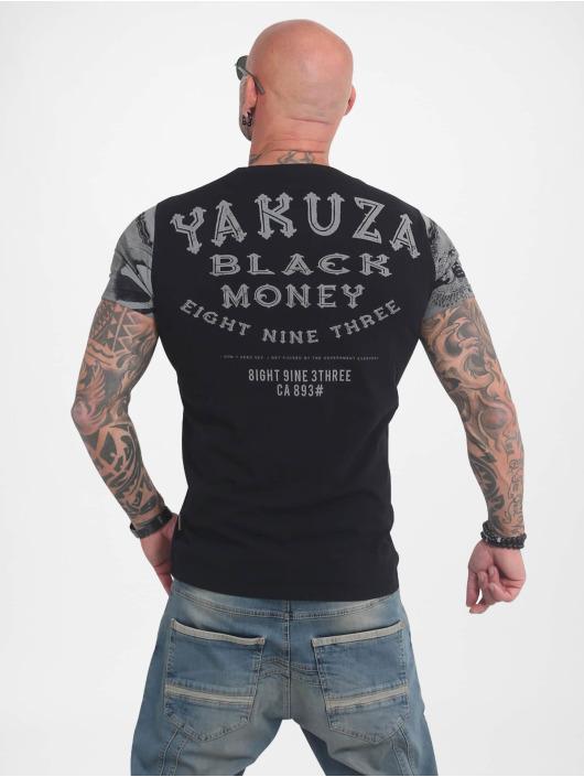 Yakuza T-Shirty Black Money czarny