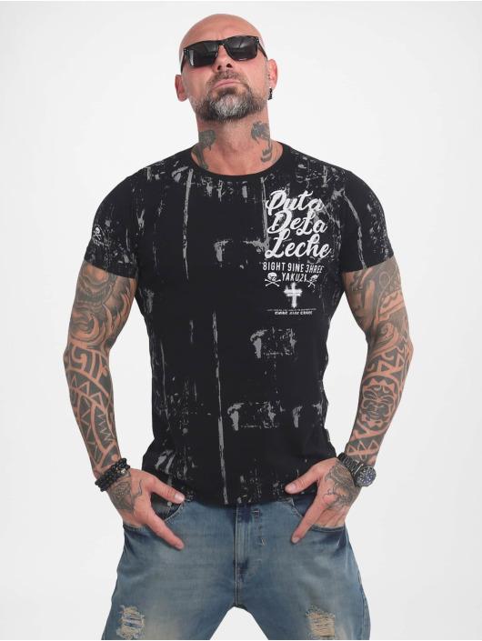 Yakuza T-Shirty Puta De La Leche czarny