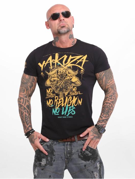 Yakuza T-Shirty No No No czarny