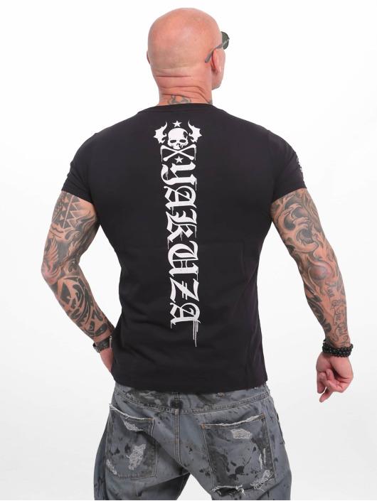 Yakuza T-Shirty Own Head czarny