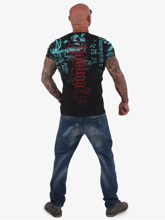 Yakuza T-Shirty Through Times czarny