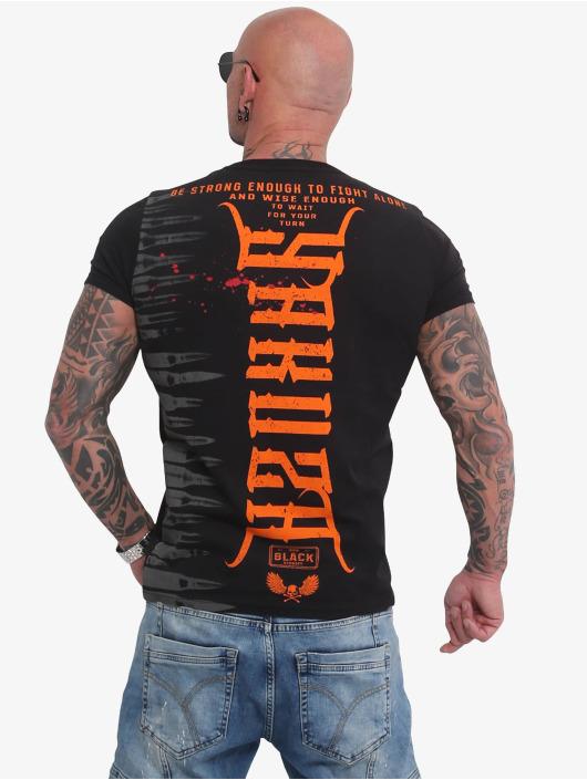 Yakuza T-Shirty Ammo czarny