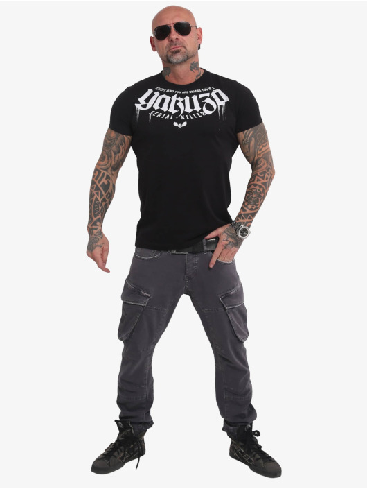 Yakuza T-Shirty Killer czarny