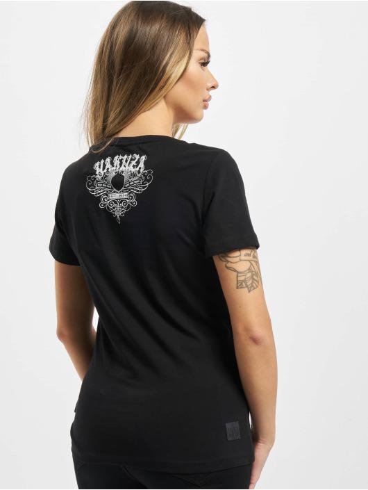 Yakuza T-Shirty My Knife V Neck czarny