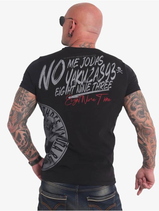 Yakuza T-Shirty Jodas czarny