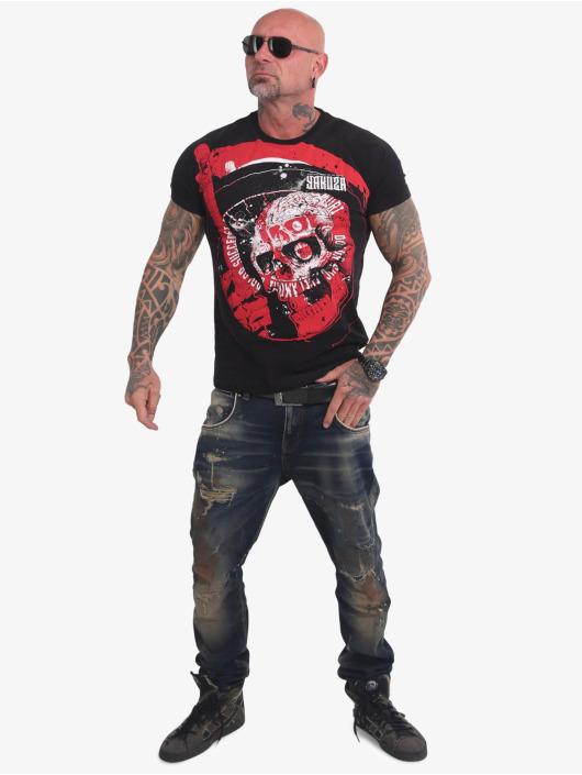 Yakuza T-Shirty Fantasize czarny