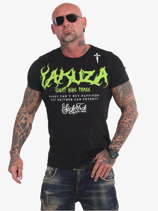 Yakuza T-Shirty Buy Happiness czarny