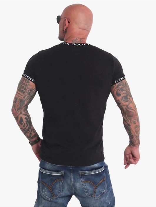 Yakuza T-Shirty Roots czarny