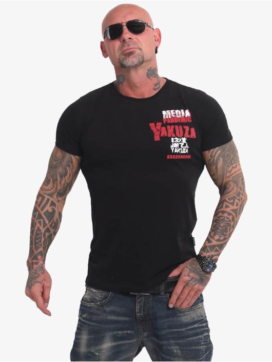 Yakuza T-Shirty Pandemic czarny