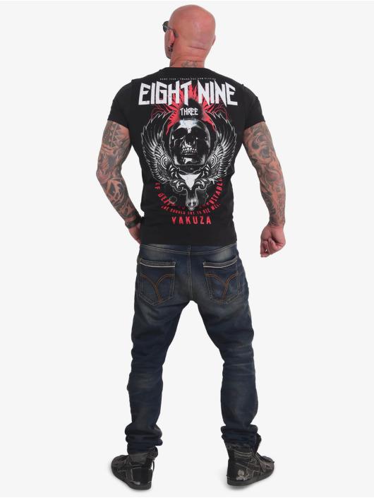 Yakuza T-Shirty Inevitable czarny