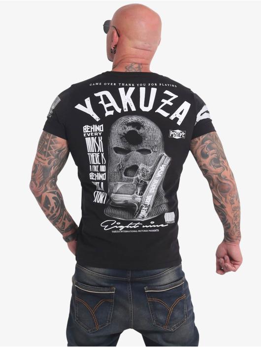 Yakuza T-Shirty Ulster czarny