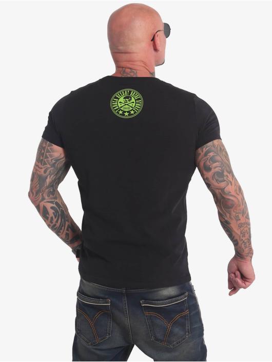 Yakuza T-Shirty Inner Circle czarny