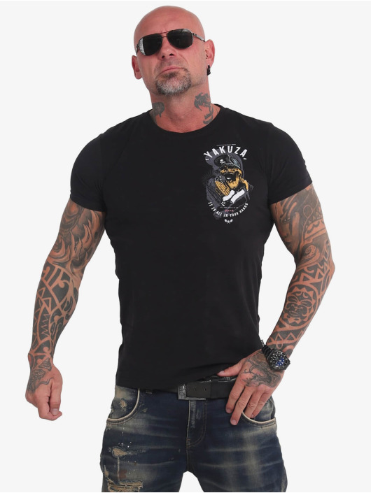 Yakuza T-Shirty Wey czarny