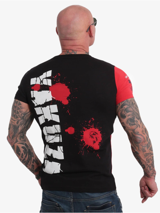Yakuza T-Shirty Raid czarny