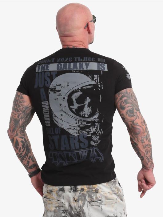 Yakuza T-Shirty Galaxy czarny