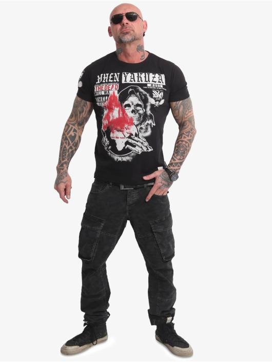 Yakuza T-Shirty Earth czarny