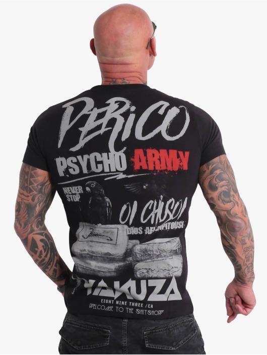 Yakuza T-Shirty Perico czarny