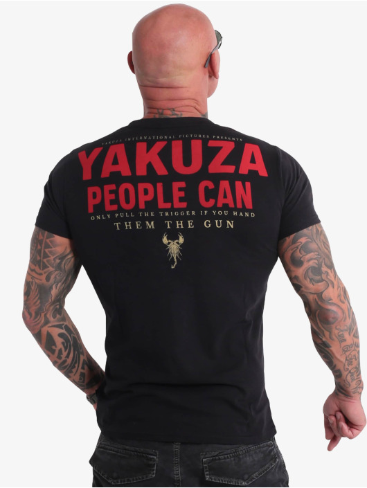 Yakuza T-Shirty People czarny