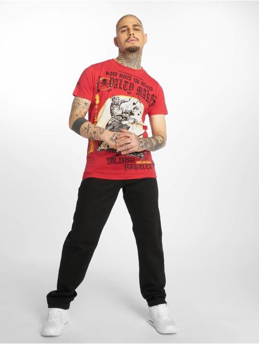 Yakuza T-Shirty Loyality czerwony