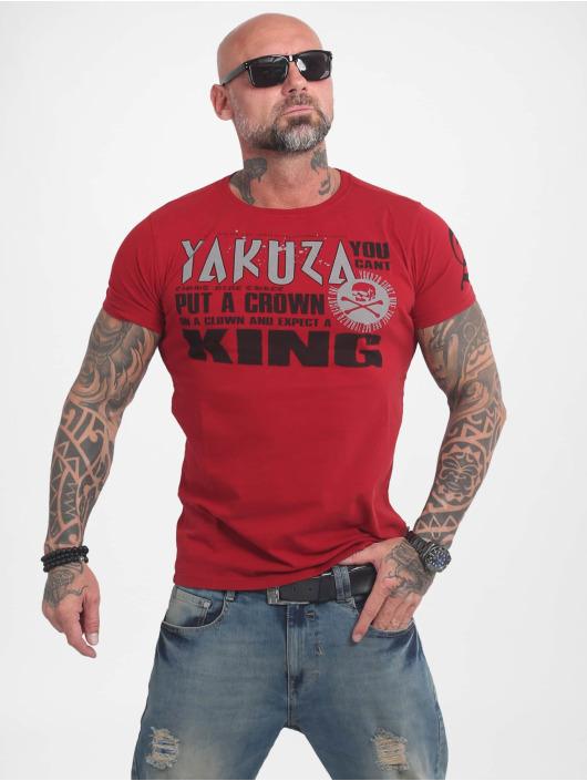 Yakuza T-Shirty Dead Punk czerwony