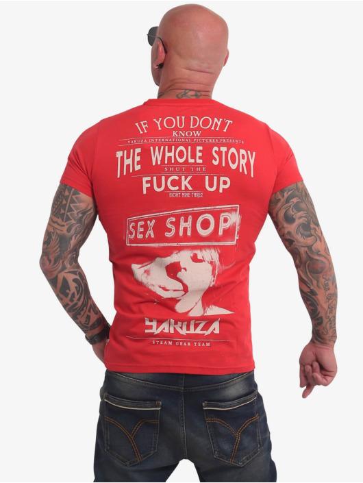 Yakuza T-Shirty XXX Shop czerwony