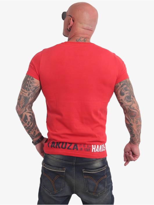 Yakuza T-Shirty Carnal czerwony