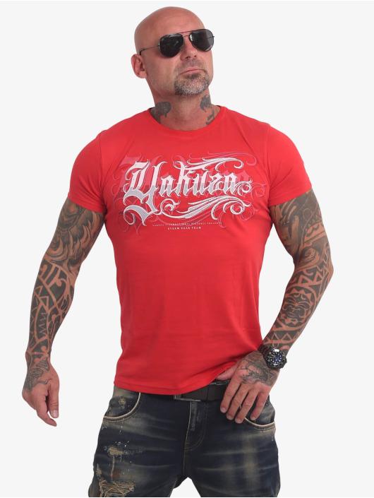 Yakuza T-Shirty Glory czerwony
