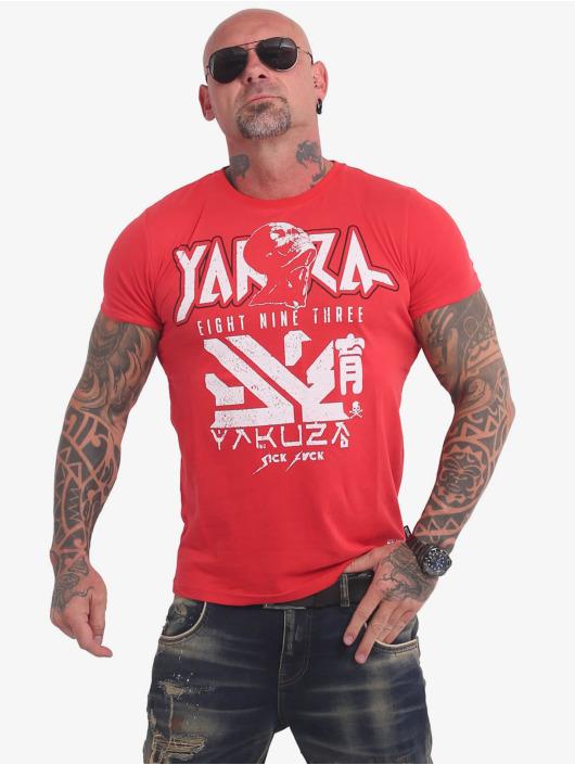 Yakuza T-Shirty Nippon Zombie czerwony