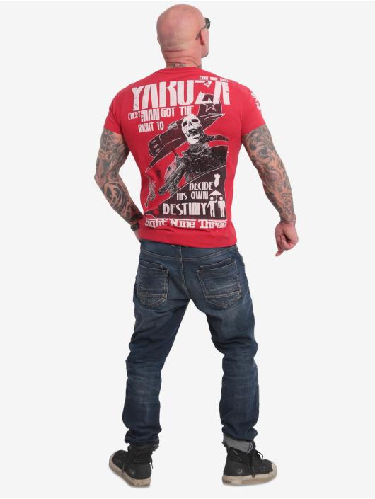 Yakuza T-Shirty Right To Decide czerwony