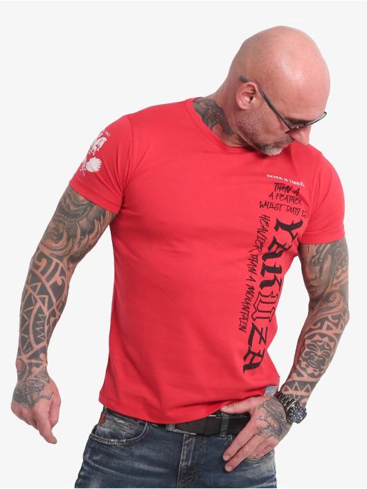 Yakuza T-Shirty Death Duty czerwony