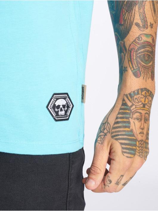 Yakuza T-Shirty Columbian niebieski