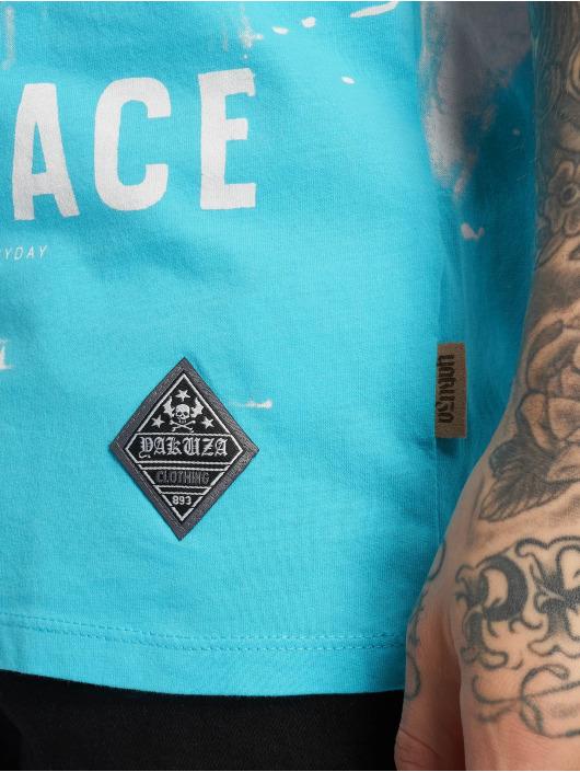 Yakuza T-Shirty Xray niebieski