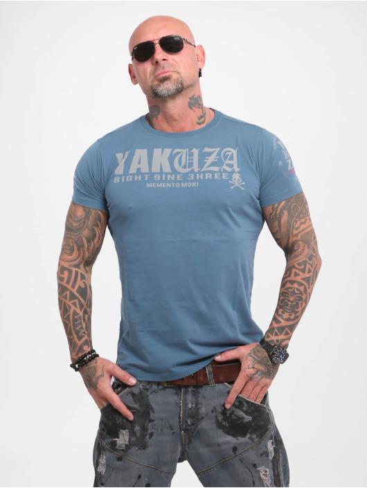 Yakuza T-Shirty Know niebieski