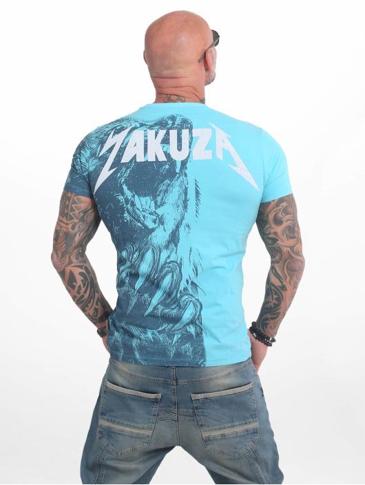 Yakuza T-Shirty Beast niebieski