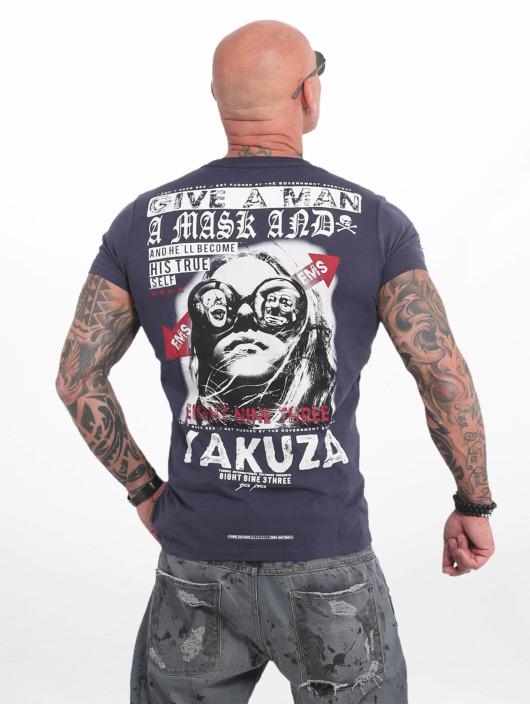 Yakuza T-Shirty Fly niebieski