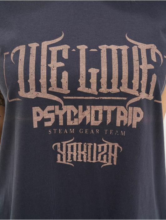 Yakuza T-Shirty We Love Box Fit niebieski