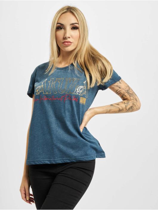 Yakuza T-Shirty Glory Box Fit niebieski