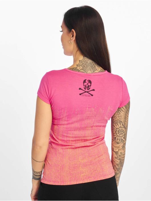Yakuza T-Shirty Love & Peace pink