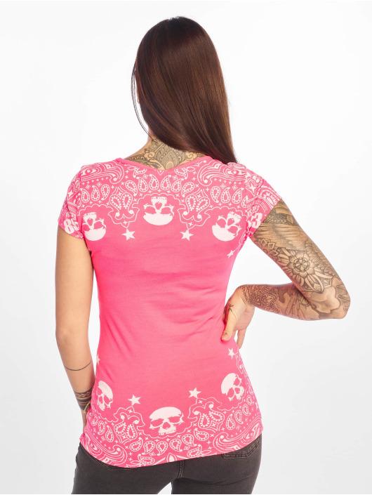 Yakuza T-Shirty Tijuana rózowy