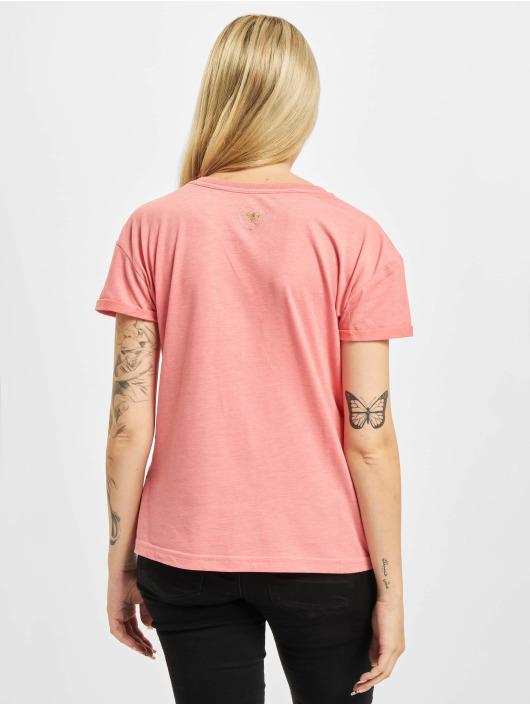 Yakuza T-Shirty Glory Box Fit rózowy