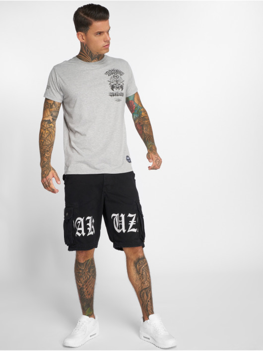 Yakuza T-Shirty Ruthless szary